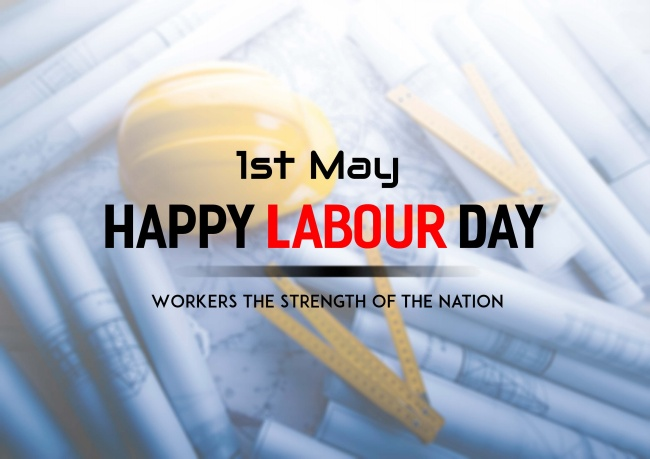 "I wish ""May Day"" Happy International Labor Day!"